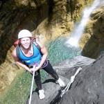 Sortie canyoning dans le canyon de Bras Rouge, avec Grande Ravine, ICOpro Réunion