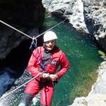 canyoning dans Trou Blanc, un must de l'ile de la Réunion