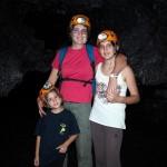 Le tunnel de lave de la coulée 2004 est un des plus réputé de la Réunion.